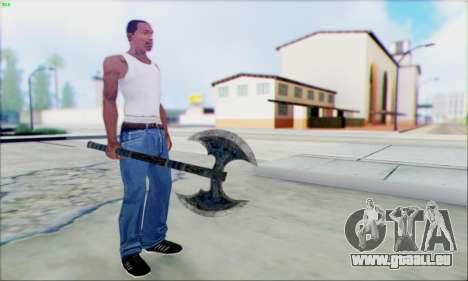 Forge de la hache pour GTA San Andreas