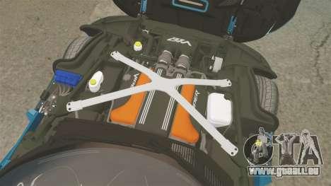Dodge Viper SRT GTS 2013 pour GTA 4 est une vue de l'intérieur