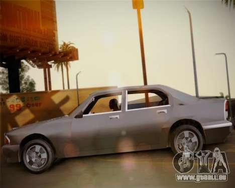 GTA III Kuruma pour GTA San Andreas vue de droite