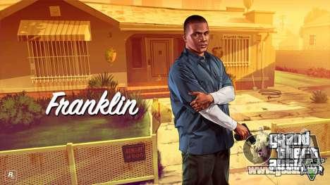 Franklin Clinton from GTA V für GTA 4 dritte Screenshot