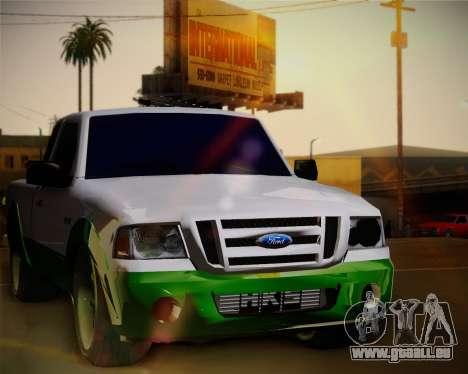 Ford Ranger 2005 für GTA San Andreas Rückansicht