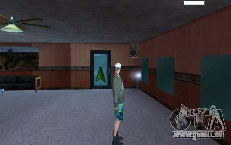 HD peau Bum pour GTA San Andreas quatrième écran