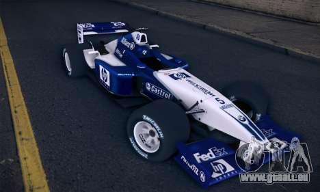 BMW Williams F1 für GTA San Andreas