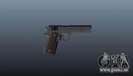 Pistolet M1911 pour GTA 4 troisième écran