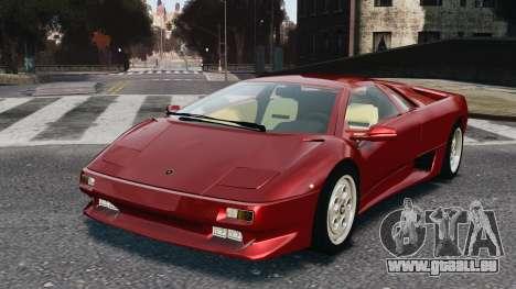 Lamborghini Diablo VT 1994 für GTA 4
