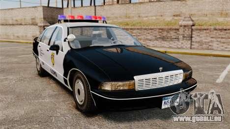 Chevrolet Caprice Police 1991 v2.0 LCPD für GTA 4
