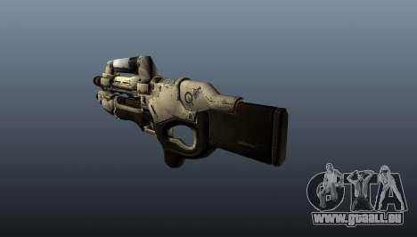 M-96 Mattock pour GTA 4 secondes d'écran