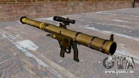 Lance-grenades Mk153 SMAW épaule Mod 0 pour GTA 4