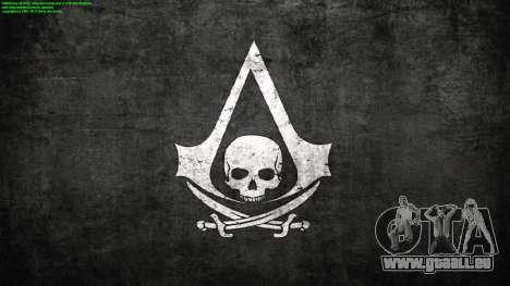 Laden von Bildschirmen in Assassins Creed für GTA San Andreas zweiten Screenshot