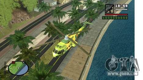 Ruelle dans LA pour GTA San Andreas troisième écran