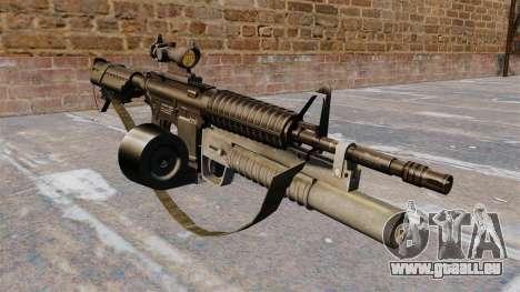 Automatique carabine M4 C-Mag pour GTA 4