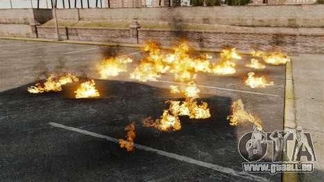 Nouveaux effets de l'explosion et l'incendie pour GTA 4 secondes d'écran