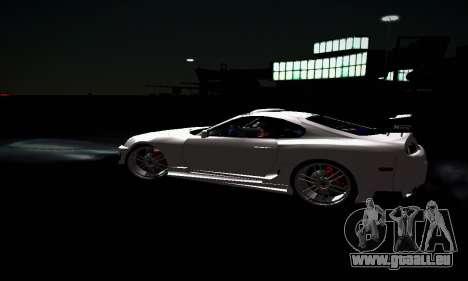 Toyota Supra pour GTA San Andreas salon