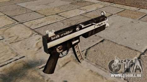Die MP5 Maschinenpistole Head Crusher für GTA 4 Sekunden Bildschirm