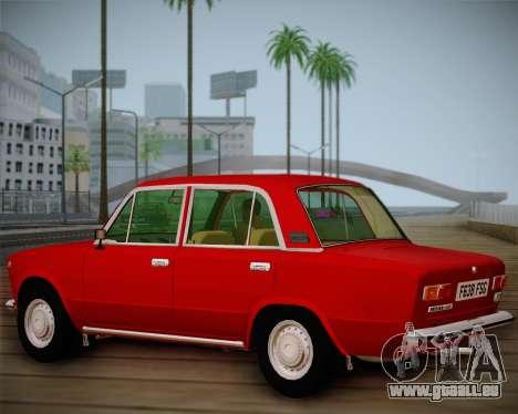 Export VAZ 21011 pour GTA San Andreas vue intérieure