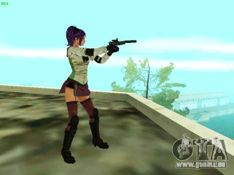 Juliet Starling pour GTA San Andreas cinquième écran