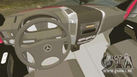 Mercedes-Benz Sprinter 2011 Australia Post für GTA 4 Rückansicht