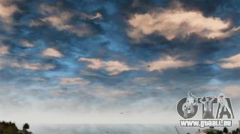 Verlegenheit roten Himmel für GTA 4