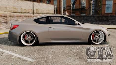 Hyundai Genesis Coupe 2013 für GTA 4 linke Ansicht