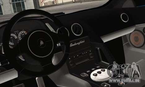 Lamborghini Murciélago 2005 pour GTA San Andreas vue de côté