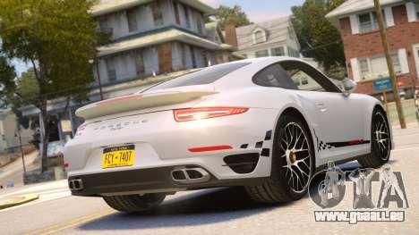 Porsche 911 Turbo 2014 [EPM] pour GTA 4 est un droit