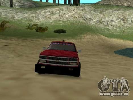 Chevrolet Silverado ATTF pour GTA San Andreas vue de côté