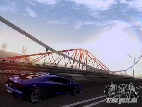 Lamborghini Aventador LP720-4 2013 pour GTA San Andreas vue de droite