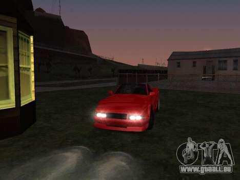 Sheetah Restyle für GTA San Andreas