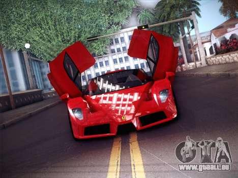 Ferrari Enzo 2003 für GTA San Andreas Unteransicht