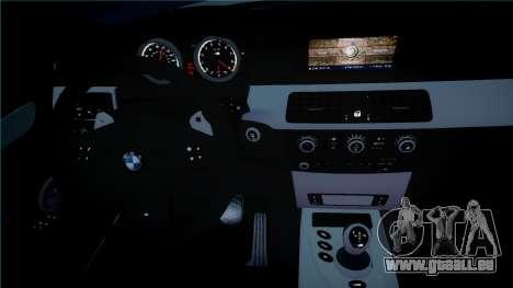 BMW M5 E60 für GTA 4 Innenansicht
