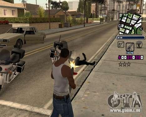 (C) HUD-par Gabbi_Stafford pour GTA San Andreas deuxième écran