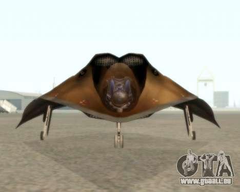 EDI pour GTA San Andreas sur la vue arrière gauche