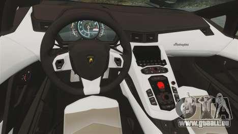 Lamborghini Aventador LP700-4 2012 [EPM] pour GTA 4 Vue arrière