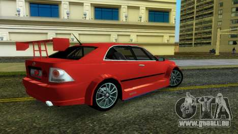 Lexus IS200 für GTA Vice City linke Ansicht