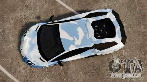 Lamborghini Aventador LP700-4 LE-C 2014 pour GTA 4 est un droit