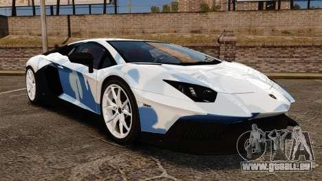 Lamborghini Aventador LP700-4 LE-C 2014 pour GTA 4
