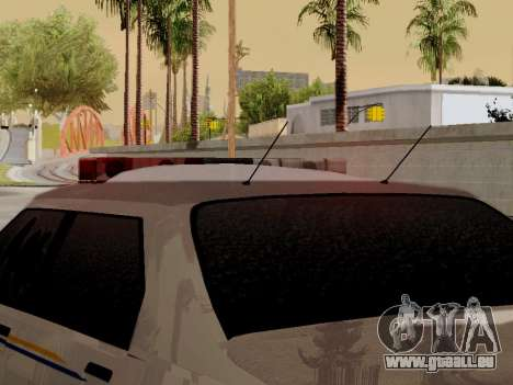 Nord Yanton Polizei Esperanto von GTA 5 für GTA San Andreas Innenansicht