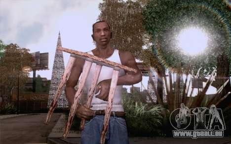 Hocker für GTA San Andreas