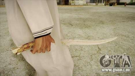 Hadhafang pour GTA San Andreas deuxième écran