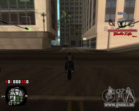 C-HUD Ghetto Live by Sanders pour GTA San Andreas