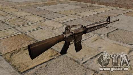 Das M16A4 Sturmgewehr für GTA 4 Sekunden Bildschirm