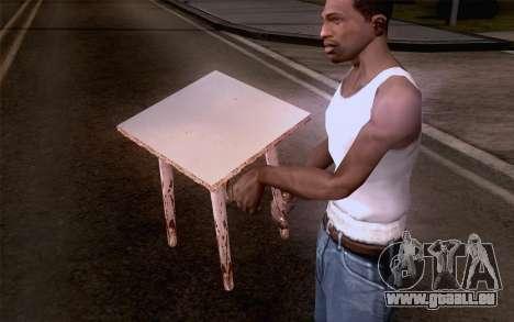 Hocker für GTA San Andreas dritten Screenshot