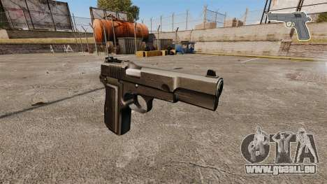 Ladewagen Pistole Browning Hi-Power für GTA 4
