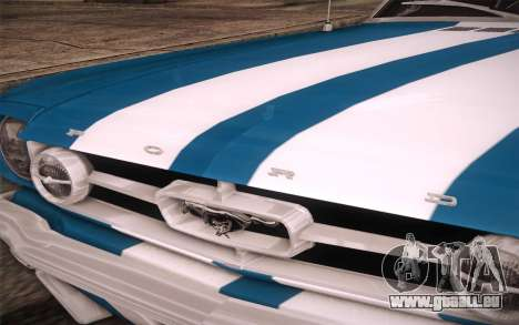 Ford Mustang GT 289 Hardtop Coupe 1965 für GTA San Andreas