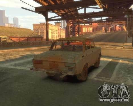 AZLK 2140 S. t. A. l. k. e. R für GTA 4 Innenansicht