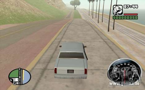 Velocimetro DC Shoes pour GTA San Andreas