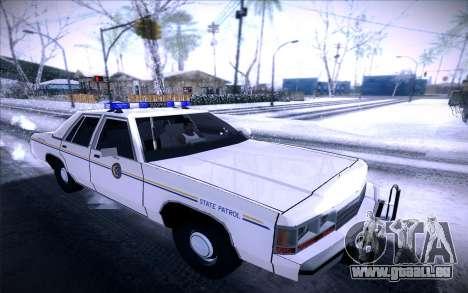 Police North Yankton für GTA San Andreas linke Ansicht
