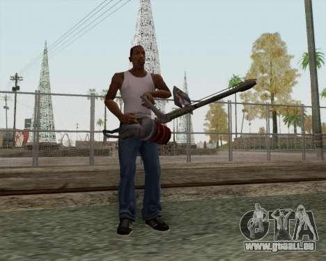 Nouveau lance-flammes pour GTA San Andreas deuxième écran