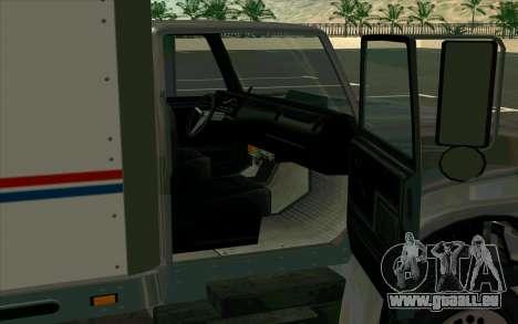 Yankee GTA 4 pour GTA San Andreas sur la vue arrière gauche