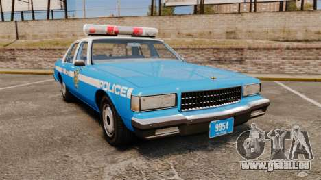 Chevrolet Caprice 1987 NYPD pour GTA 4